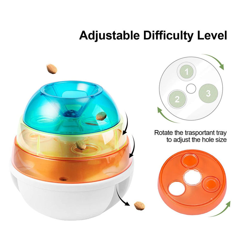 Interactive Food Dispenser Dog Toy