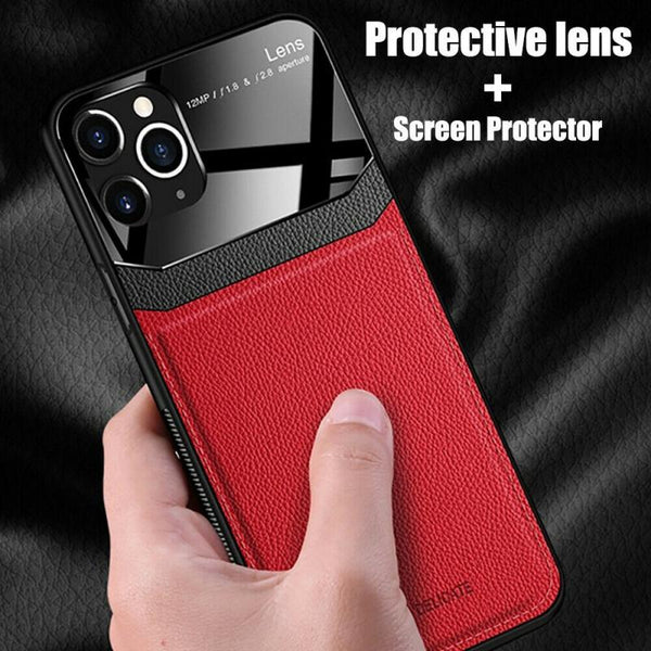Shockproof Protective Glass Slim Case Cover For iPhone 11 Pro, Max 11 Pro