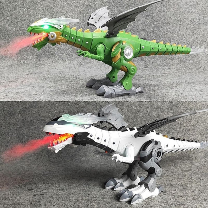 Electric Dinosaur Toy With Lights and Sound