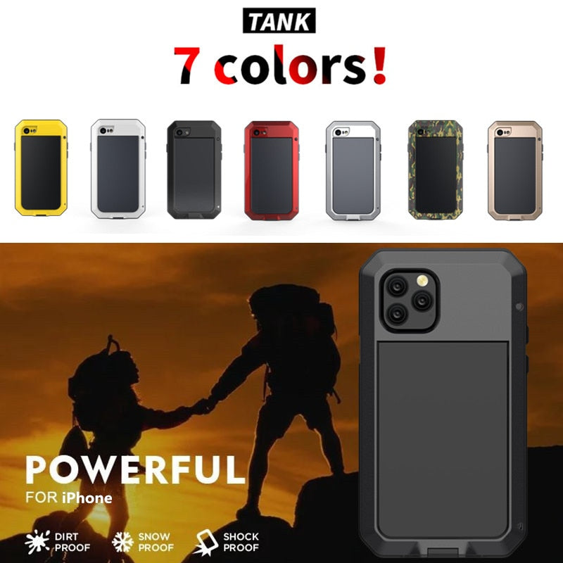 Doom Armor Shockproof Case Cover for iPhone 11 Pro Max XR XS MAX 6 6S 7 8 Plus X 5S 5