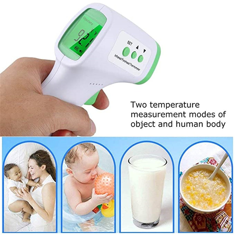 Non-Contact Infrared Digital LCD Thermometer with Backlight