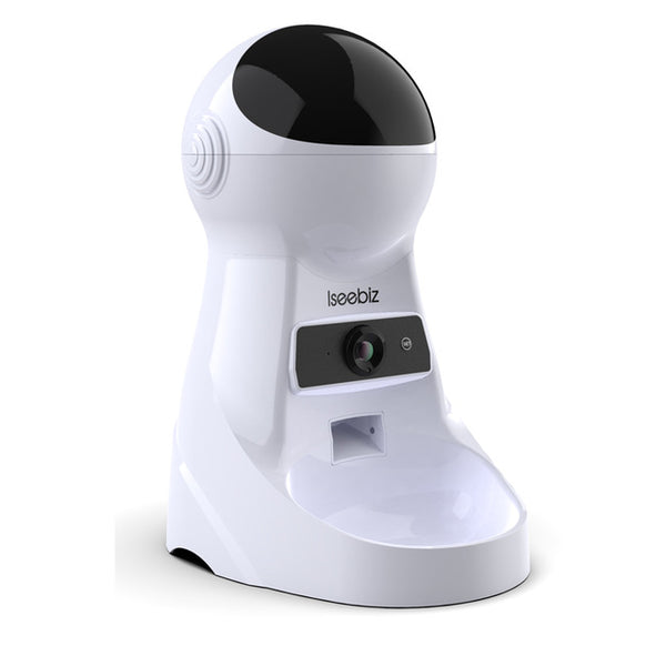 Smart Automatic Wifi Pet Feeder With Video Monitor
