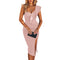 Women's One Shoulder Bandage Dress
