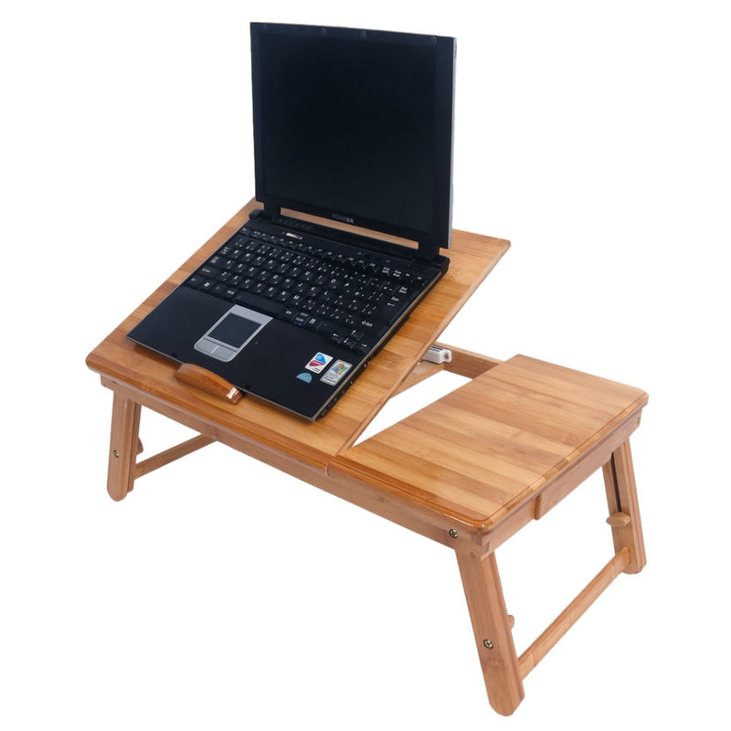 Portable Folding Bamboo Laptop Desk