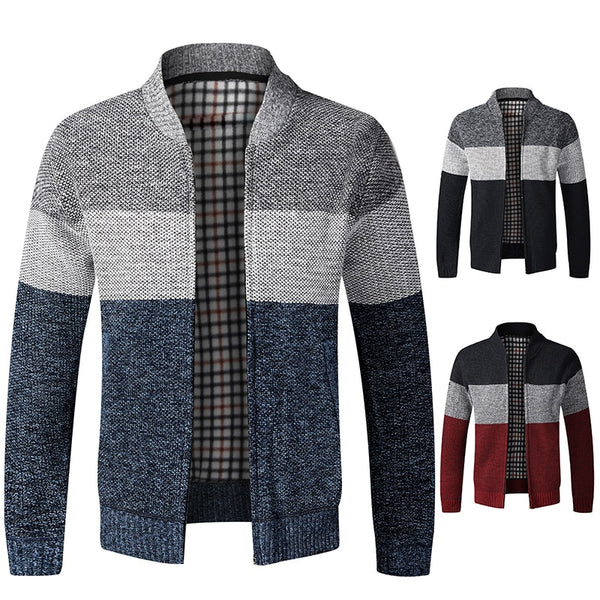 Men's Spring Autumn Sweater Coat