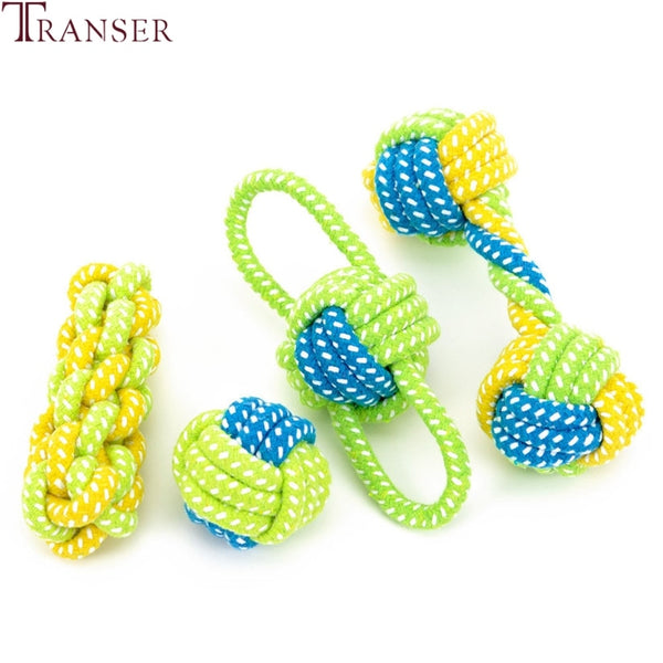 Training Rope Ball Toy For Dogs