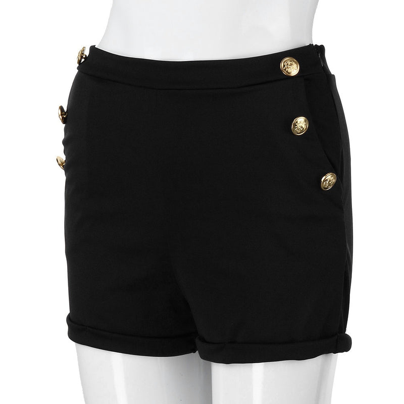 Women's Casual Zipper Shorts