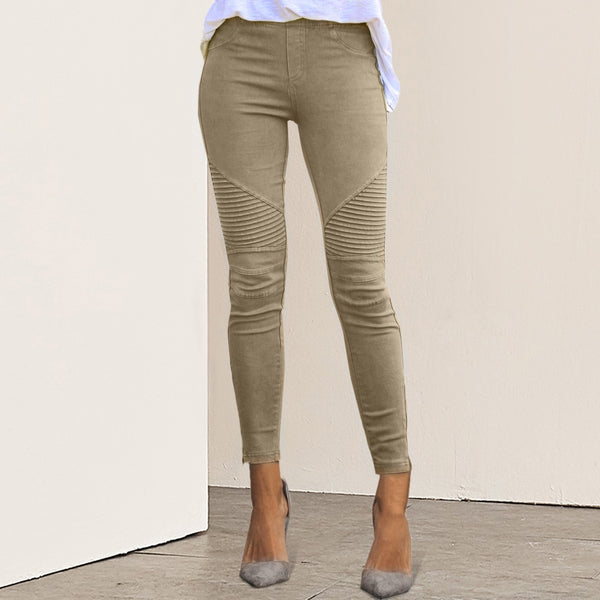 Women's High Waist Slim Fit Pants