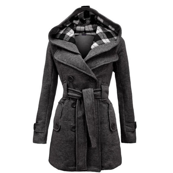 Women's Woolen Winter Long Coat