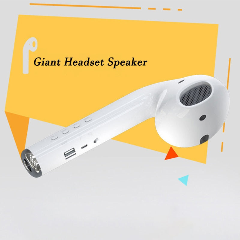 Giant Portable Outdoor Wireless Bluetooth Speaker