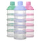 Baby Removable Milk Powder Storage Box Infant Four Grid Feeding Food Boxes