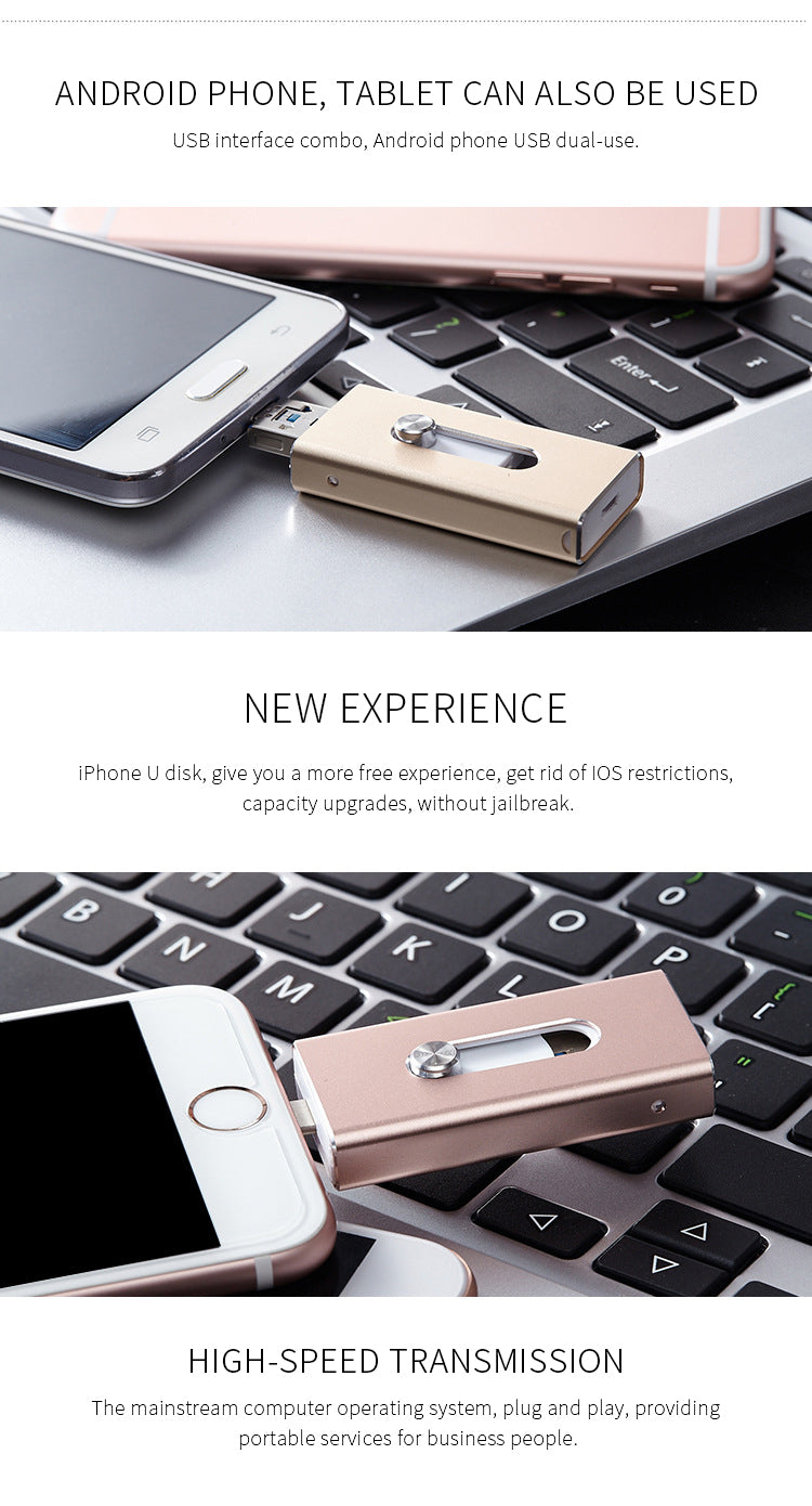 USB Flash Drive For iPhone and Android