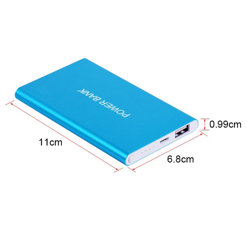 Super Slim 4500mAh Portable Ultra-thin Power Bank