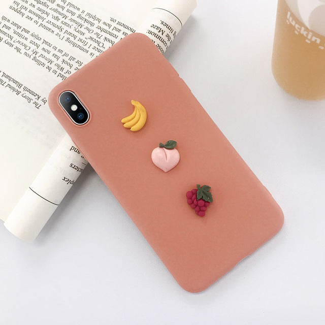 Letter Soft Phone Case For iPhone