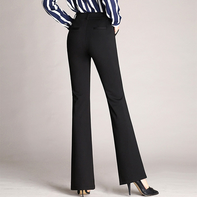 Women's Pull On Stretchy Dress Pants