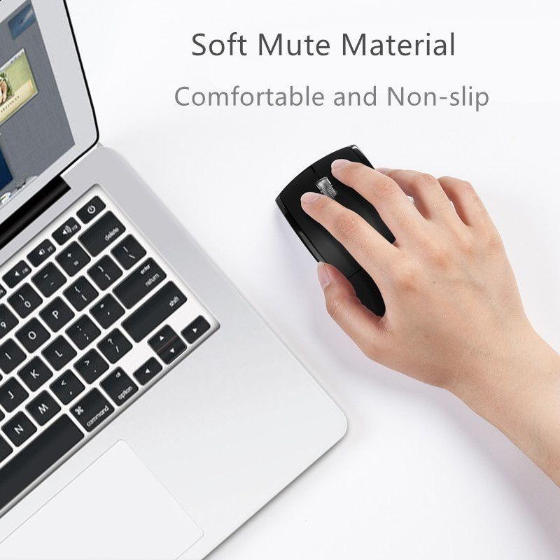 New 2.4G Wireless Mouse Fold-able Computer Mouse