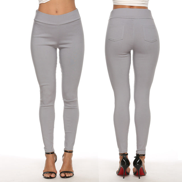 Women's Cotton Pencil Pants