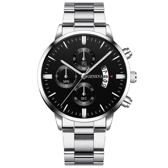 Stainless Steel Luxury Men Watch