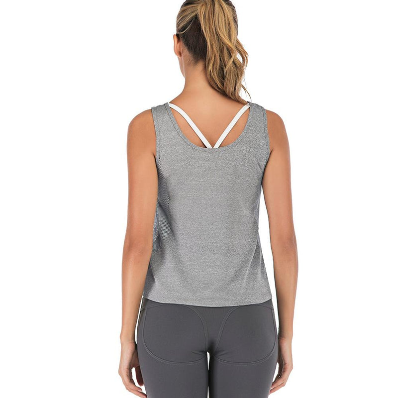 Sleeveless Fitness T-shirt
