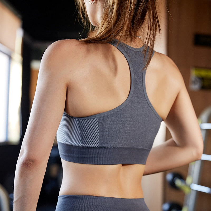 Women's Seamless  Fitness Sports Bra