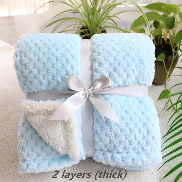 3D Super Soft Fluffy Fleece Furry Child Blanket