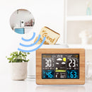 LCD Digital Weather Station Alarm Clock