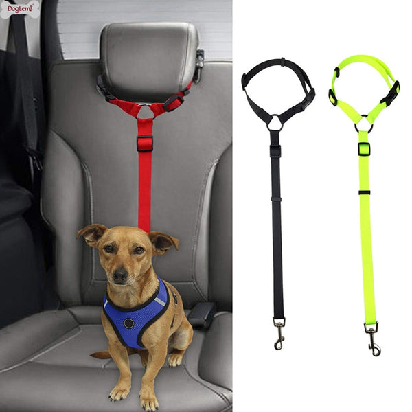 1PC Universal Practical Dog Safety Adjustable Car Seat Belt