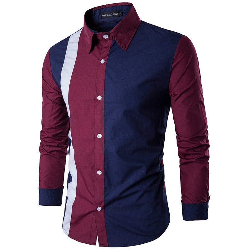 Men's Long Sleeve  Cotton Shirt