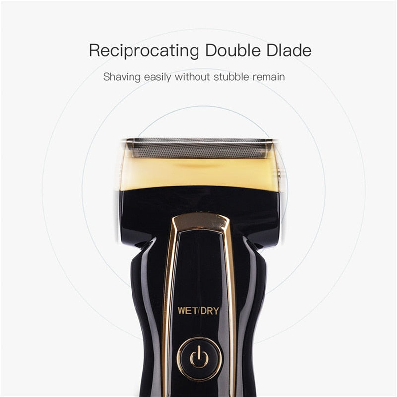 Kemei Waterproof Rechargeable Electric Razor