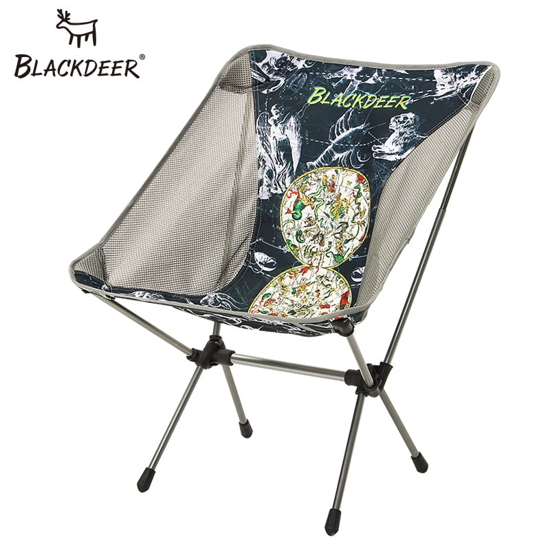 BLACKDEER Portable Ultralight Chair Folding Fishing Stable Camping Chair Aluminium Alloy Seat