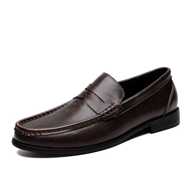 Men Loafers Shoes Spring Summer Soft Genuine Leather Sneakers Men Moccasins Shoes