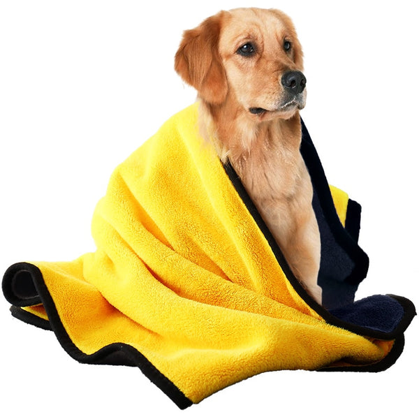 Pet Towels, Absorbent Towels, Bath Towels, Dogs, Quick-drying