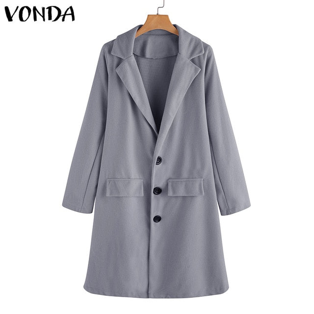 Ladies Autumn Trench Coat