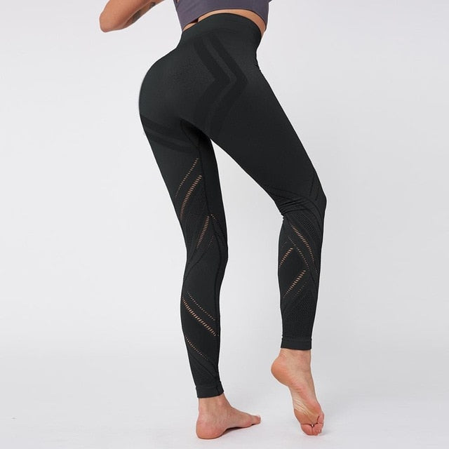 Women's Yoga Tummy Control Gym Compression Fitness Leggings