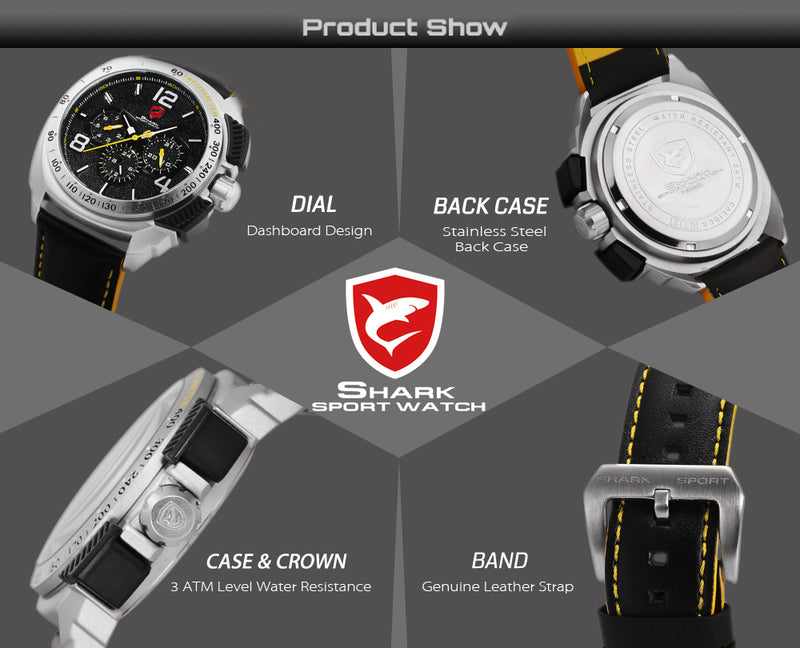 Tiger Shark Sport Watch