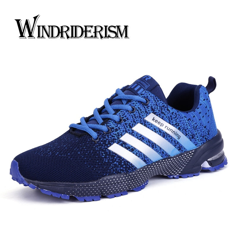 Men  Non-slip Lace-up Running Shoes