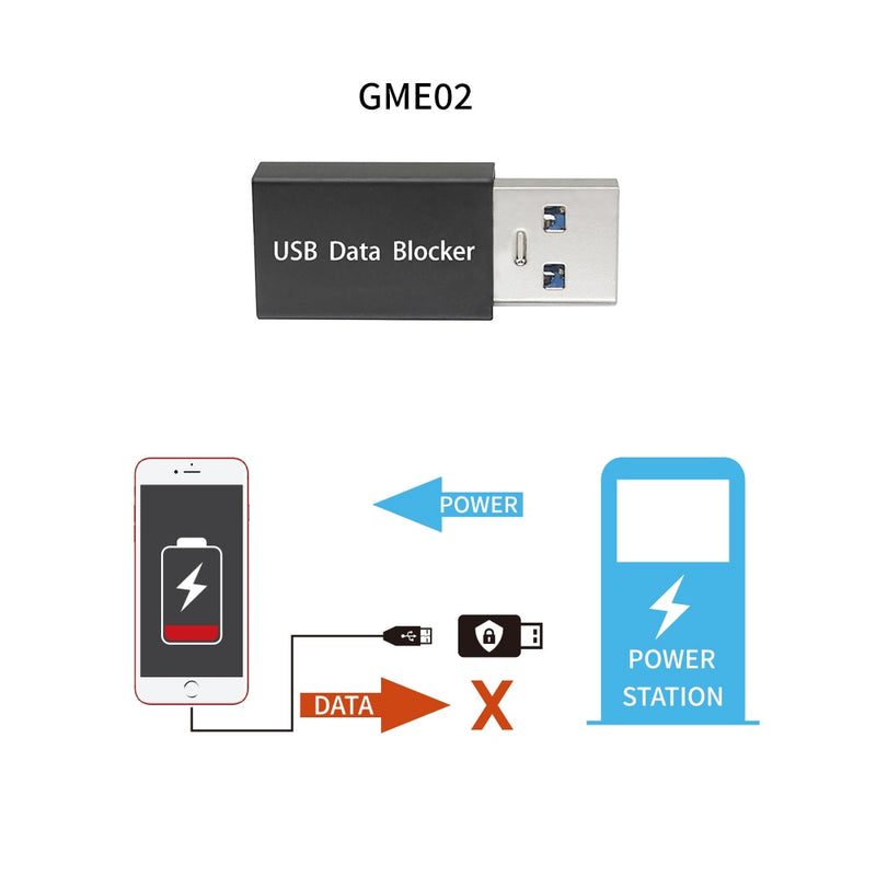 Hack Proof USB Data Blocker