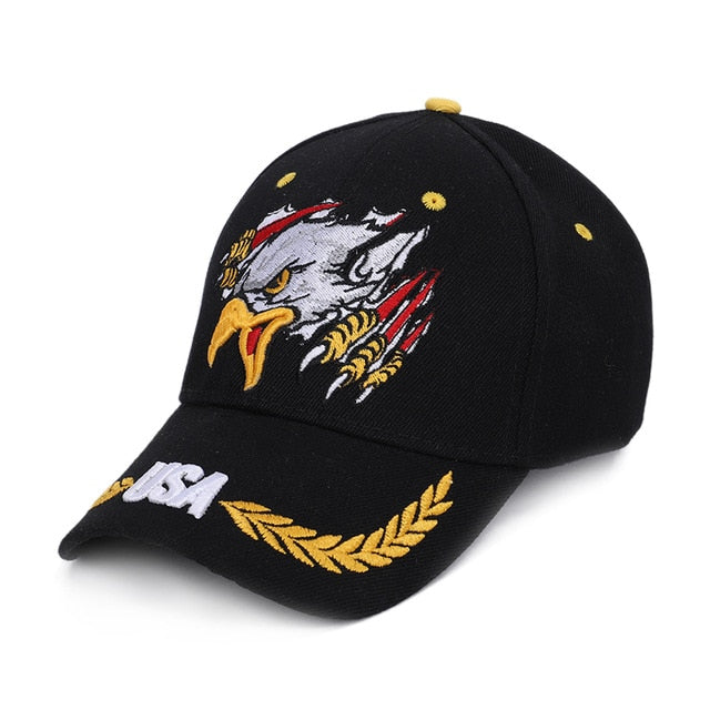Men's Eagle Embroidered Baseball Hat