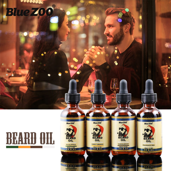 Natural Beard Oil 4 Tastes for Groomed Beard