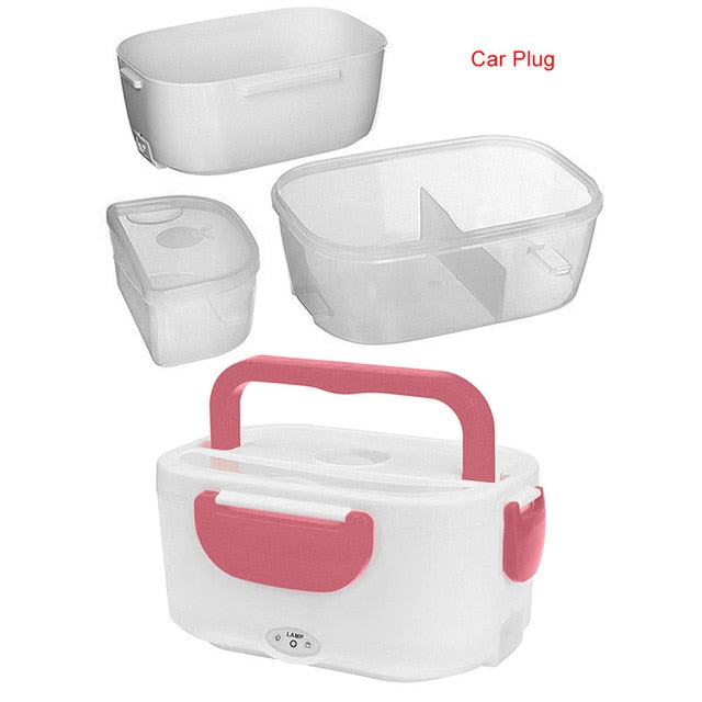 Multi-functional Portable Electric Heating Lunch Box for Home Office Car