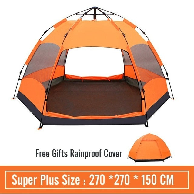 5/8 Person Large Space Family Camping Tent