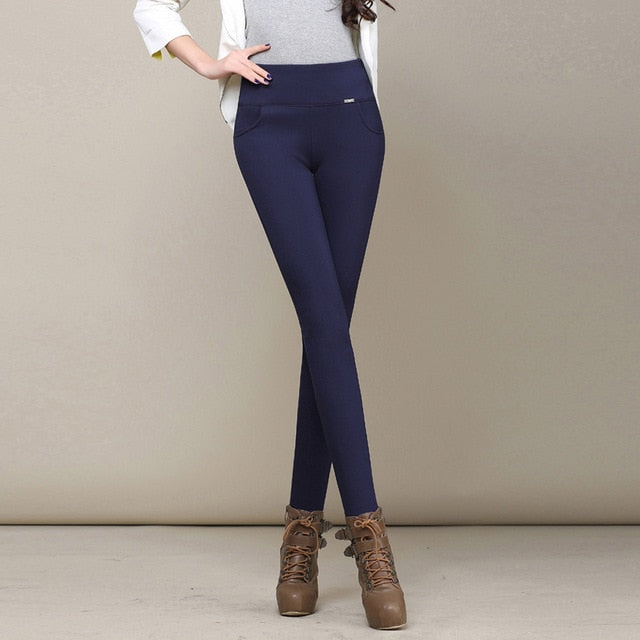 Women's High Waist Stretch Thick Winter Leggings
