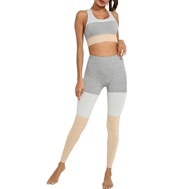 2 Piece Hollow Out Yoga Set