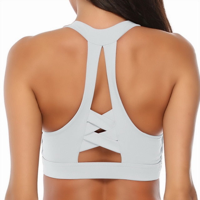 Woman's Yoga Fitness Sports Bra