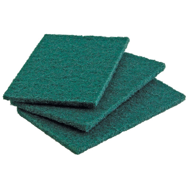 "Heavy Duty Scouring Pads - 3 Pack (6"" X 4"")"
