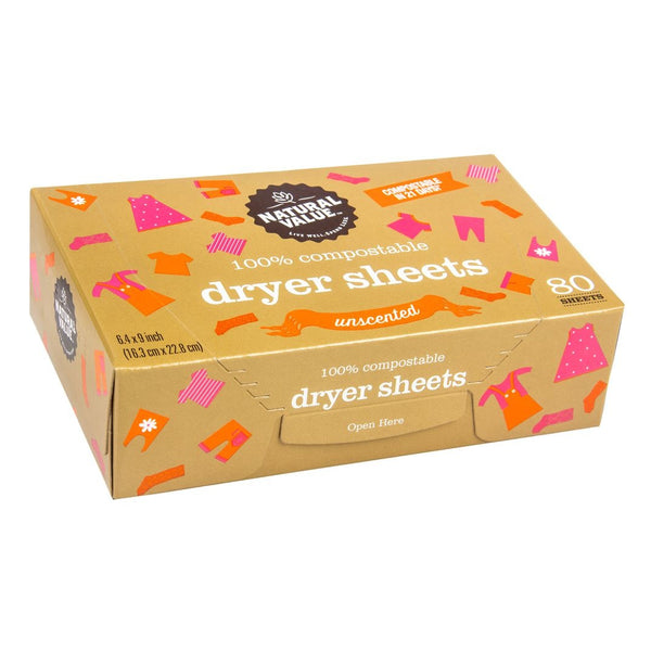 Dryer Sheets - Unscented