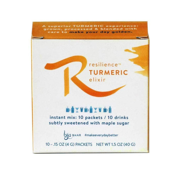 Resilience Turmeric Elixir Box - 10 Single Servings