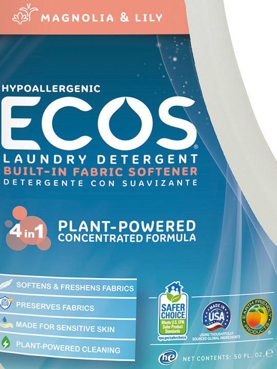 Laundry Detergent - 50 Loads - Magnolia & Lily