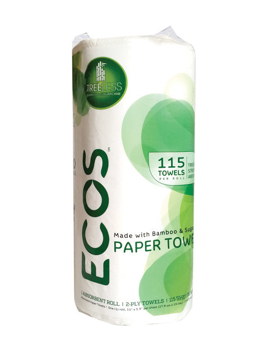 Bamboo Paper Towels - Single Roll