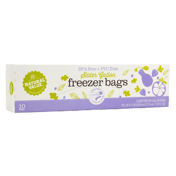 Freezer Bags - 1 Gallon - 10 Count